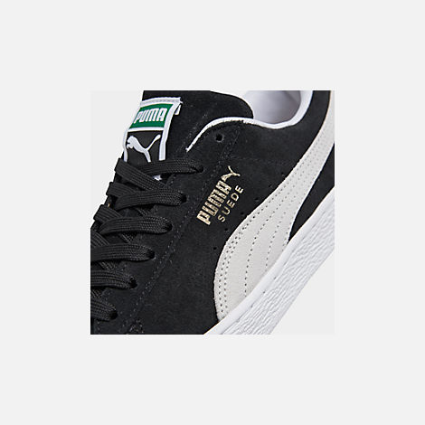 Front view of Men's Puma Suede Classic Casual Shoes