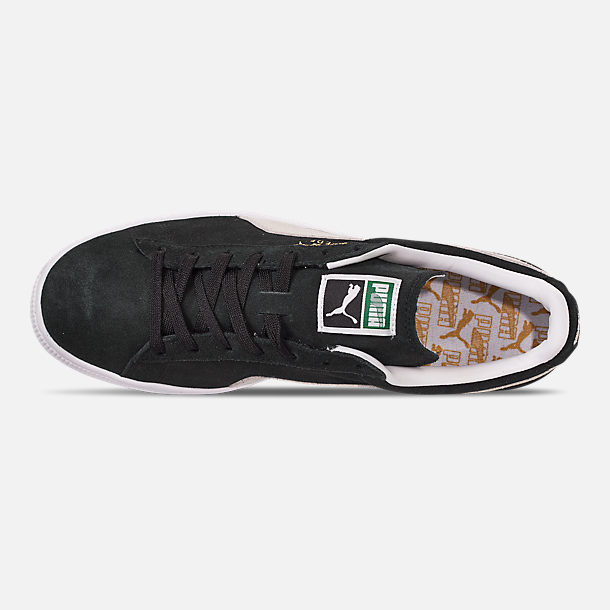 Top view of Men's Puma Suede Classic Casual Shoes