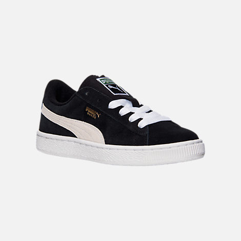 871a8486b4b Three Quarter view of Boys  Big Kids  Puma Suede Jr. Casual Shoes in