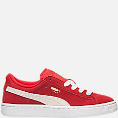 Boys' Big Kids' Puma Suede Jr. Casual Shoes