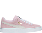 Girls' Grade School Puma Suede Casual Shoes