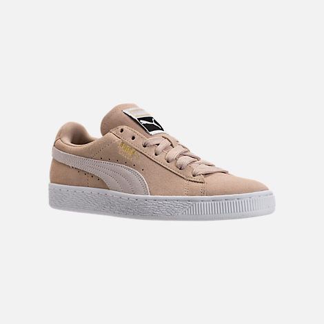 chaussures puma suede heart safari beige do you