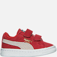 4cdeb8a350fd Boys  Toddler Puma Suede Hook-and-Loop Closure Casual Shoes