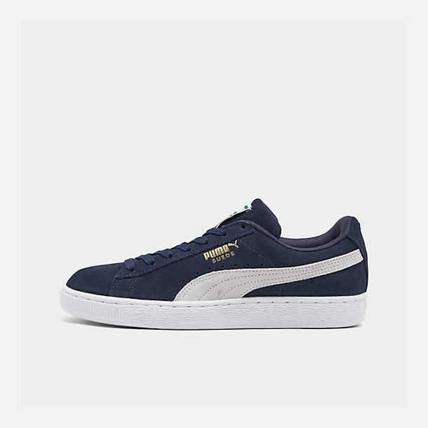 74cc8df4814a Right view of Men s Puma Suede Classic+ Casual Shoes in Peacoat Navy White