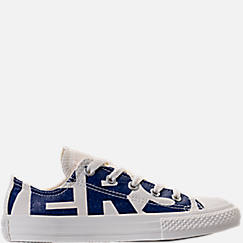 Boys' Preschool Converse Chuck Taylor All Star Ox Wordmark Casual Shoes