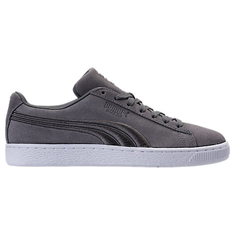 ... White Leather Lace Up Sneakers Shoes Mens Puma Suede Classic Badge  Casual Shoes ... 592d755b9