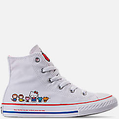 Girls' Preschool Converse Chuck Taylor All Star Hello Kitty High Top Casual Shoes