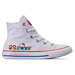 Image of GIRLS' PRESCHOOL CONVERSE CHUCK TAYLOR ALL STAR HI HELLO KITTY