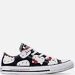 Girls' Little Kids' Converse Chuck Taylor All Star Hello Kitty Ox Casual Shoes