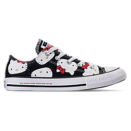 Image of GIRLS' PRESCHOOL CONVERSE CHUCK TAYLOR ALL STAR OX HELLO KITTY