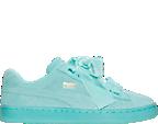 Women's Puma Suede Heart Reset Casual Shoes