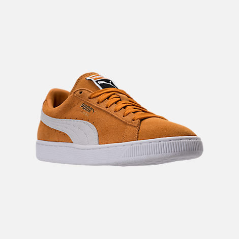 Three Quarter view of Unisex Puma Suede Classic+ Casual Shoes