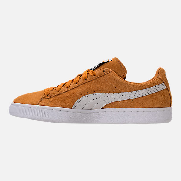 Left view of Unisex Puma Suede Classic+ Casual Shoes