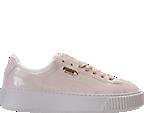 Women's Puma Basket Platform Casual Shoes