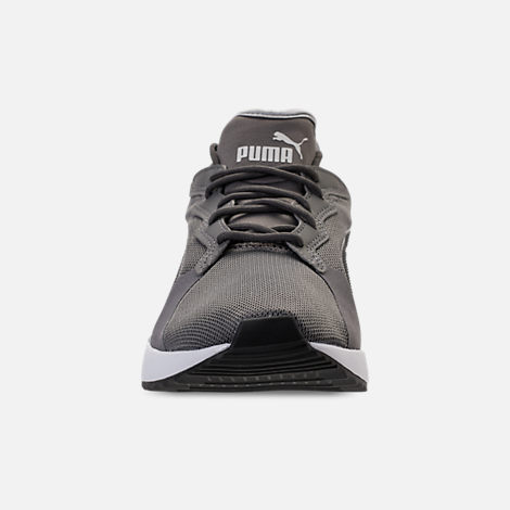Front view of Unisex Puma Pacer Next Casual Shoes in Smoked Pearl