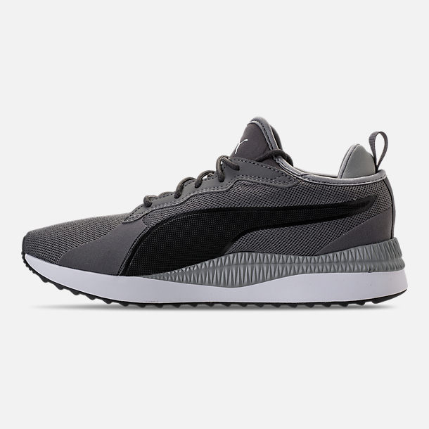 Left view of Unisex Puma Pacer Next Casual Shoes in Smoked Pearl