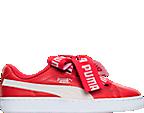 Women's Puma Basket Heart DE Casual Shoes