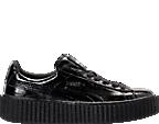 Women's Puma Fenty x Rihanna Wrinkled Pantent Creeper Casual Shoes