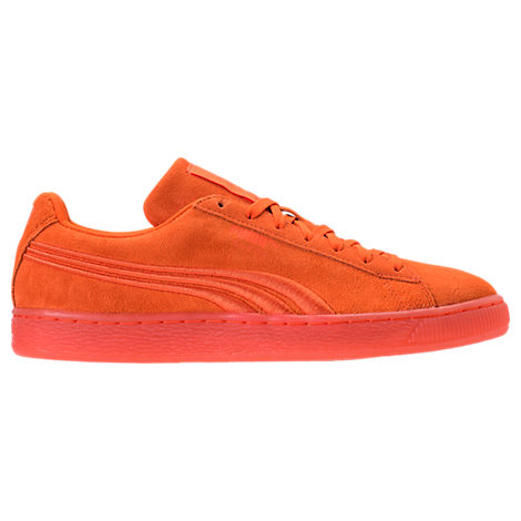 9720a45673601d Puma Men S Suede Classic Badge Iced Casual Shoes