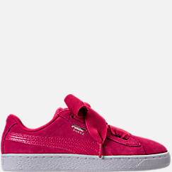 Girls' Grade School Puma Suede SNK JR Casual Shoes