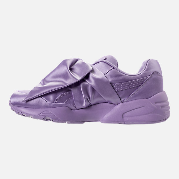 Left view of Women's Rihanna x Puma Fenty Bow Casual Shoes