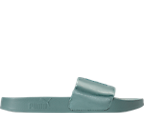 Women's Puma Leadcat Satin Slide Sandals