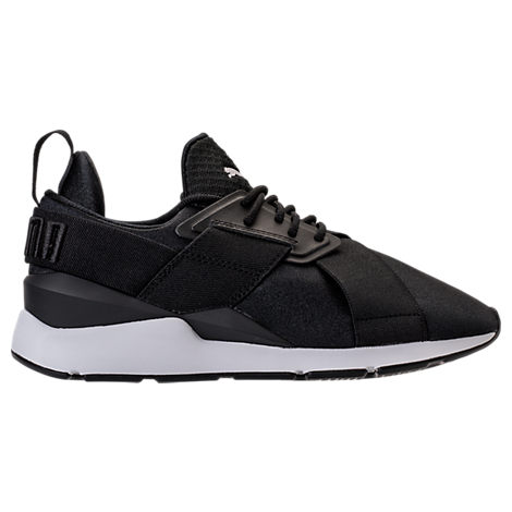 WOMEN'S MUSE SATIN EP CASUAL SNEAKERS FROM FINISH LINE