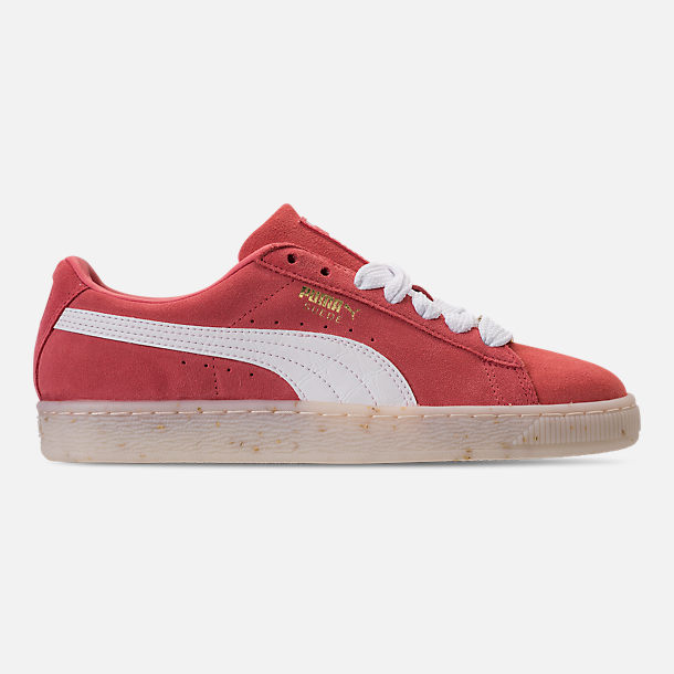 Right view of Women's Puma Suede Classic Fabulous Casual Shoes in Spiced Coral
