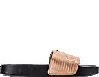 Women's Puma Leadcat Leather Slide Sandals