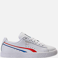 Boys' Preschool Puma Clyde Casual Shoes