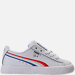 Boys' Toddler Puma Clyde Casual Shoes
