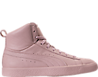 Men's Puma x Young & Reckless Clyde Mid Casual Shoes