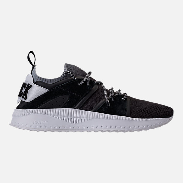 Right view of Men's Puma x Blvck Scvle Tsugi Blaze of Glory Knit Casual Shoes in Black/White/Grey