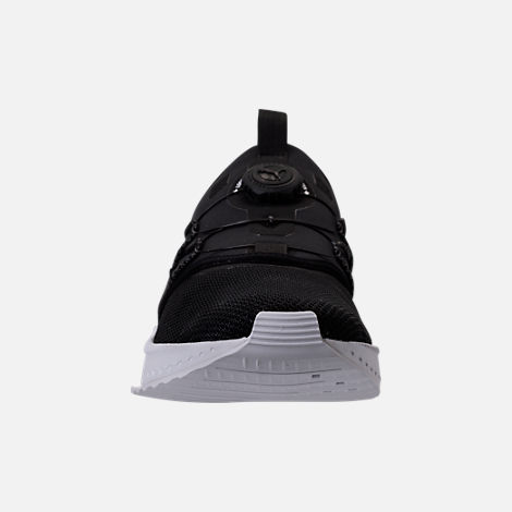 Front view of Men's Puma x Blvck Scvle Tsugi Disc Casual Shoes in Black/White