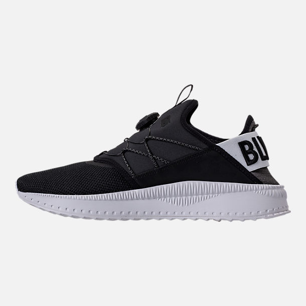 Left view of Men's Puma x Blvck Scvle Tsugi Disc Casual Shoes in Black/White