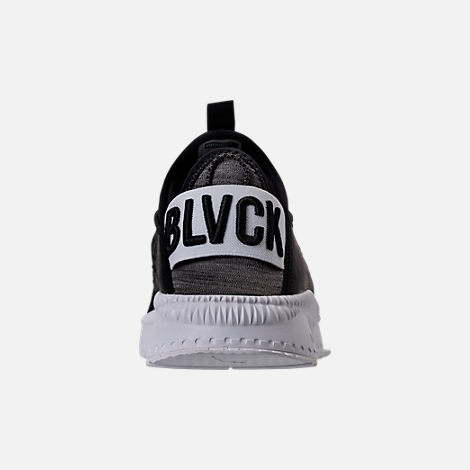 Back view of Men's Puma x Blvck Scvle Tsugi Disc Casual Shoes in Black/White