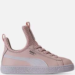 Girls' Preschool Puma Basket Fierce Casual Shoes