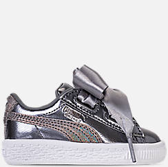 Girls' Toddler Puma Basket Heart LunaLux Casual Shoes