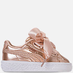 Girls' Toddler Puma Basket Heart LunaLux Casual Shoes