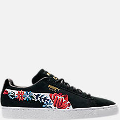 Women's Puma Suede Classic Embroidered Casual Shoes
