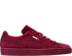 Women's Puma Suede Classic Velvet Casual Shoes