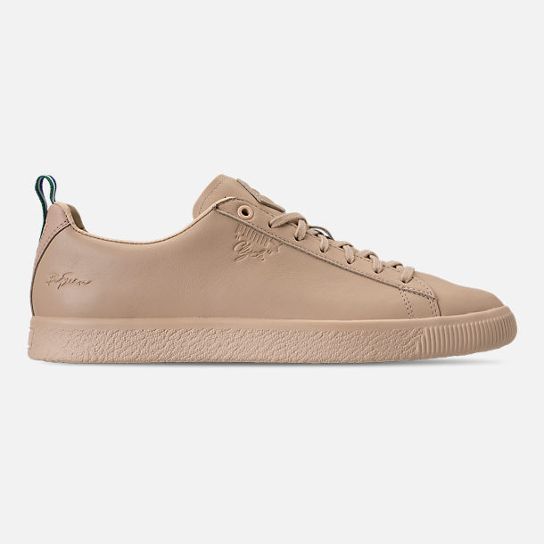 Right view of Men's Puma Clyde x Big Sean Casual Shoes in Tan