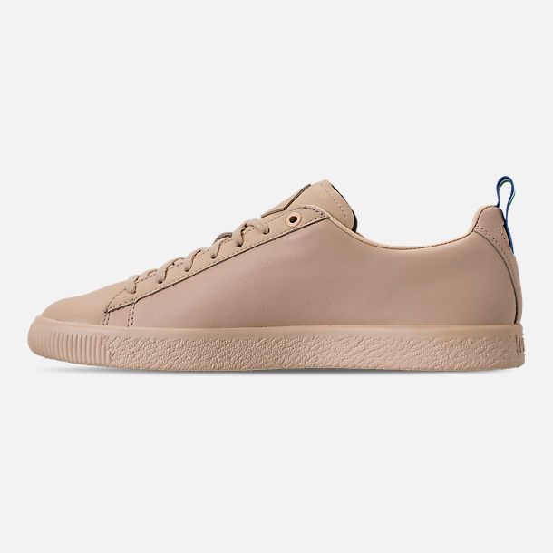 Left view of Men's Puma Clyde x Big Sean Casual Shoes in Tan