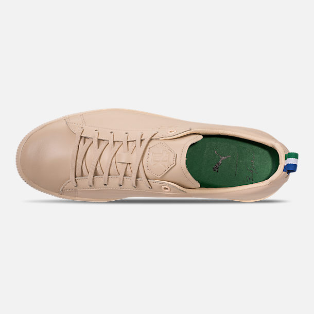 Top view of Men's Puma Clyde x Big Sean Casual Shoes in Tan