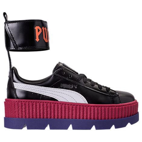 1264c563608753 womens puma fenty x rihanna ankle strap creeper casual shoes