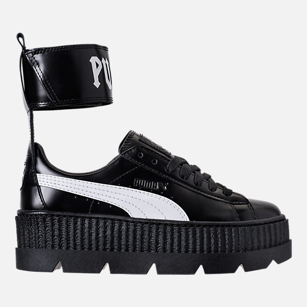 info for 056d1 c3b38 Women's Puma Fenty x Rihanna Ankle Strap Creeper Casual ...