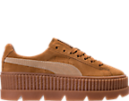 Women's Puma Fenty x Rihanna Suede Cleated Creeper Casual Shoes