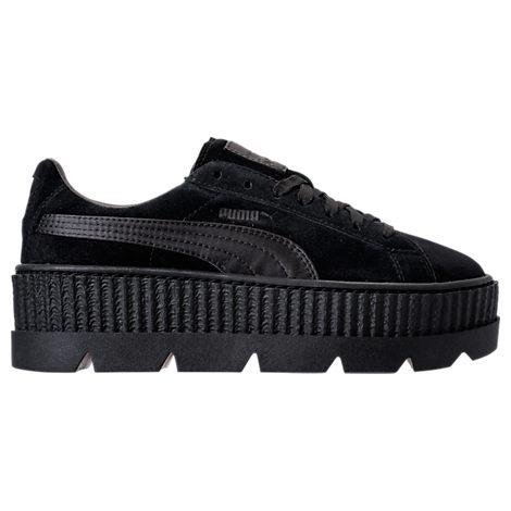 wholesale dealer 3ee25 4d961 womens puma fenty x rihanna suede creeper casual shoes