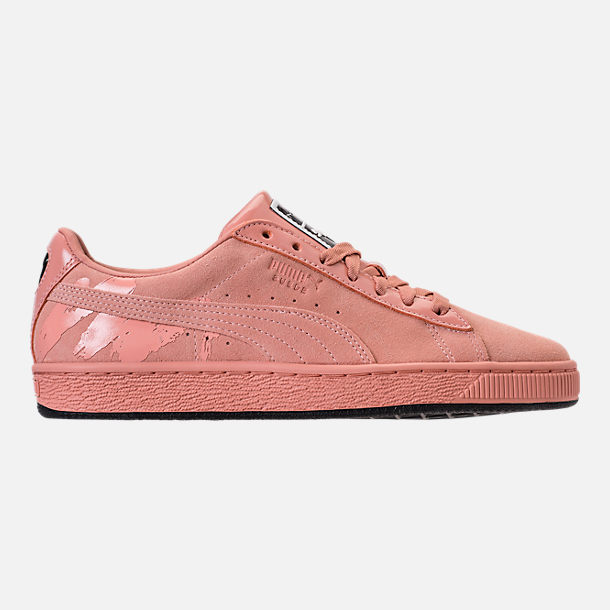 Right view of Women's Puma Suede Classic x Mac One Casual Shoes in Muted Clay/Muted Clay