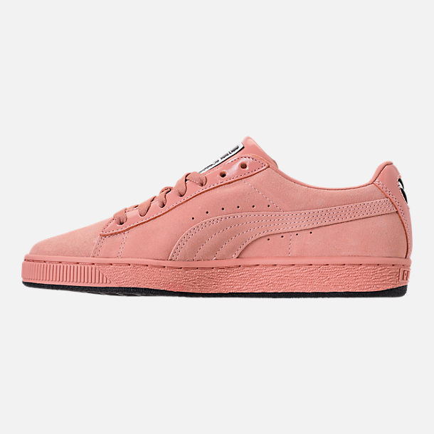 Left view of Women's Puma Suede Classic x Mac One Casual Shoes in Muted Clay/Muted Clay